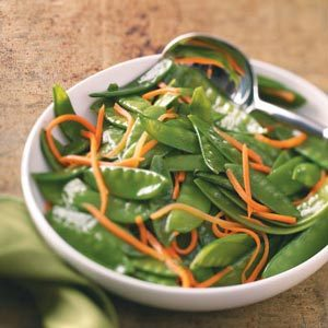 Snow Pea & Carrot Saute for Two Recipe
