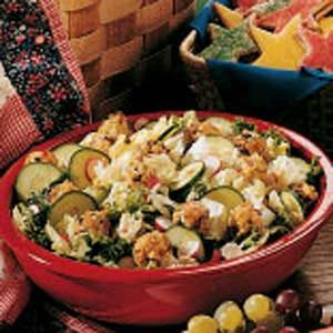 Cheese Ball Salad Recipe