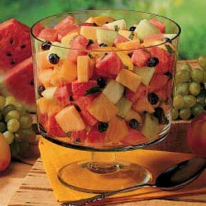 Minted Melon Salad Recipe