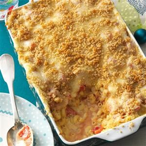 Italian Three-Cheese Macaroni