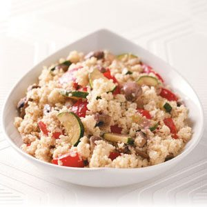 Dijon Veggies with Couscous