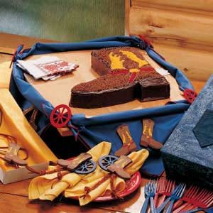 Cowboy Boot Cake Recipe