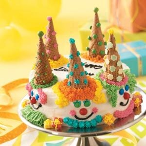 Birthday Clown Cake Recipe