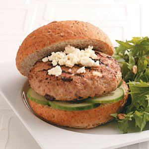 Healthy Turkey Burgers