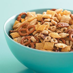 Maple-Glazed Snack Mix Recipe