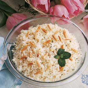 Minted Rice Casserole Recipe