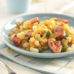 Hearty Sausage 'n' Hash Browns Recipe