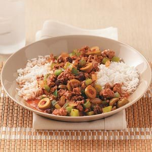 Easy Cuban Picadillo for Two Recipe