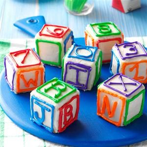 Birthday Blocks Recipe