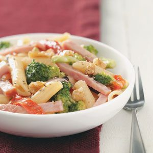 Ham and Penne Milano Recipe