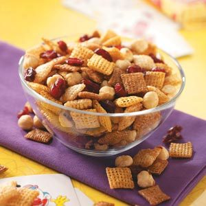 Cranberry Party Mix Recipe