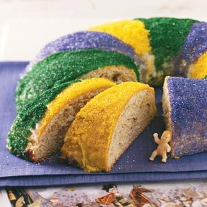 Traditional New Orleans King Cake Recipe