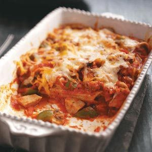 Chicken & Sausage Manicotti Recipe