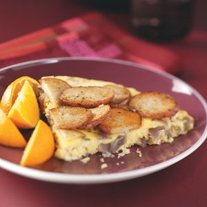 Potato & Red Onion Frittata Recipe