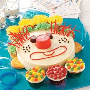 Happy Clown Cake Recipe