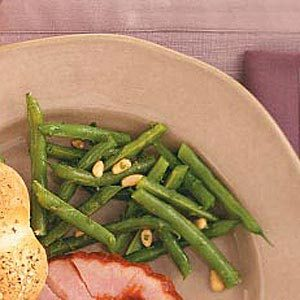 Green Beans with Lemon and Pine Nuts Recipe