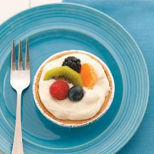 White Chocolate Mousse Tarts Recipe