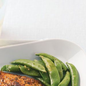 Lemon Snap Peas Recipe