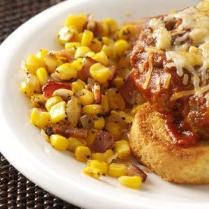 Seasoned Corn with Bacon Recipe