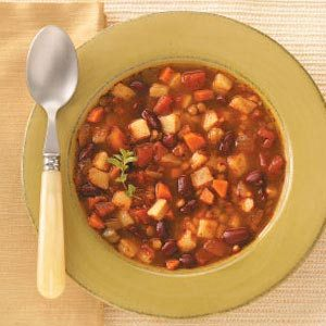 Potato-Lentil Stew Recipe