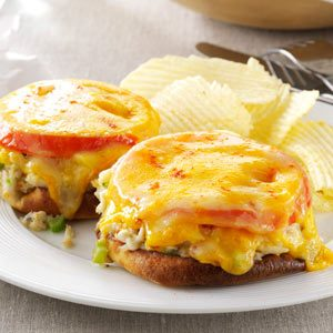 Quick Crab Melts Recipe