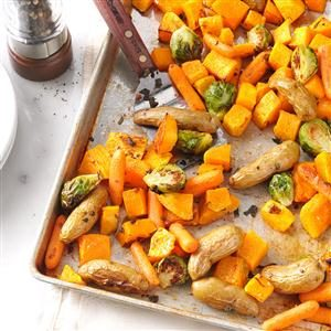 Roasted Vegetables with Sage Recipe