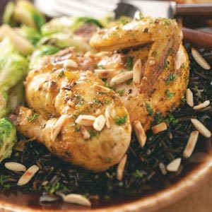 Cornish Game Hens for Two Recipe