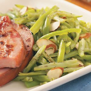 Green Beans with Savory for Two Recipe