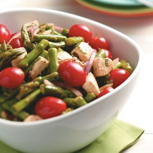 Asparagus Mozzarella Salad Recipe