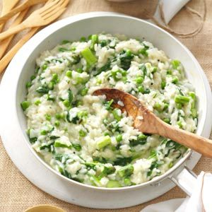 Garden Risotto Recipe