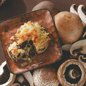 Risotto-Stuffed Portobellos Recipe