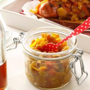 Vidalia Onion Relish Recipe photo by Taste of Home