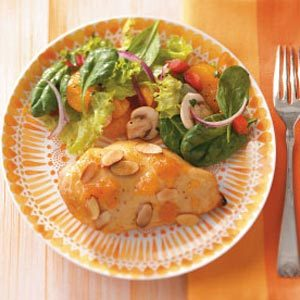 Apricot-Almond Chicken Breasts Recipe