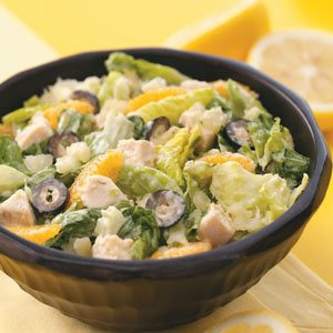 Caribbean Chicken Caesar Salad for Two Recipe