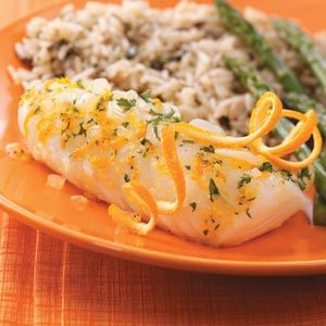 Citrus Fish for Two Recipe