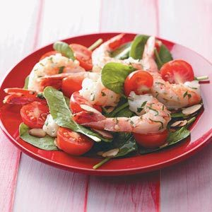 Shrimp Spinach Salad