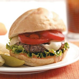 BBQ Bacon Burgers Recipe