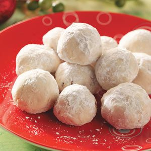 Cherry-Almond Balls Recipe