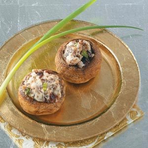 Sensational Stuffed Mushrooms