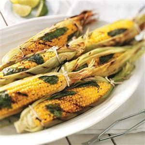 Basil Corn on the Cob Recipe