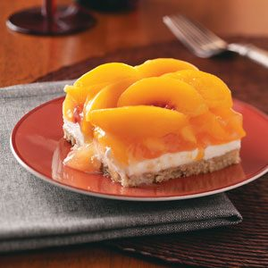 Peaches & Cream Dessert