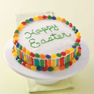 Colorful Easter Cake Recipe