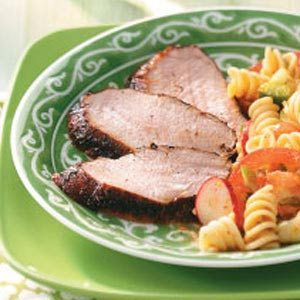 Grilled Spicy Pork Tenderloin