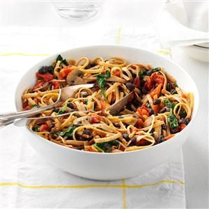 Vegetarian Black Bean Pasta Recipe