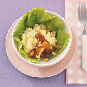 Curried Egg Lettuce Cups Recipe