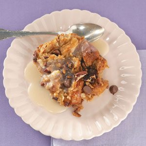 Cinnamon-Toffee Croissant Bread Pudding Recipe