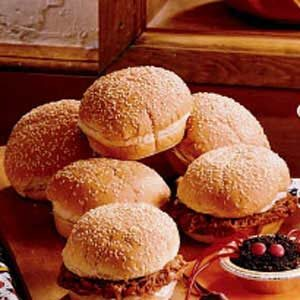 Flavorful Barbecued Pork Sandwiches Recipe