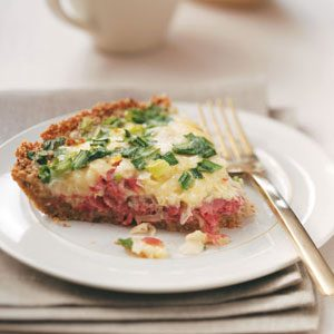 Reuben Quiche Recipe