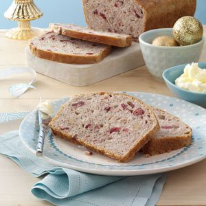 Cranberry-Walnut Toasting Bread Recipe