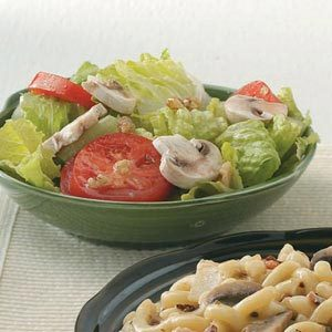 Romaine and Walnut Salad Recipe